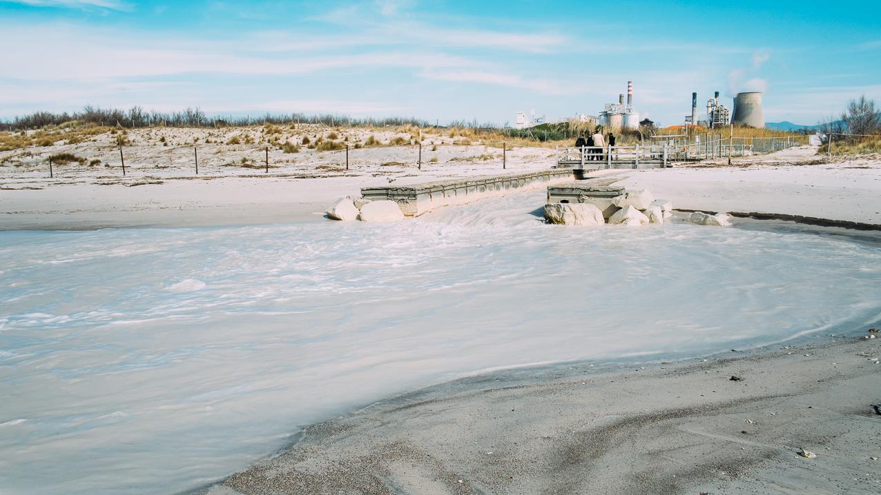Risultati immagini per solvay rosignano inquinamento