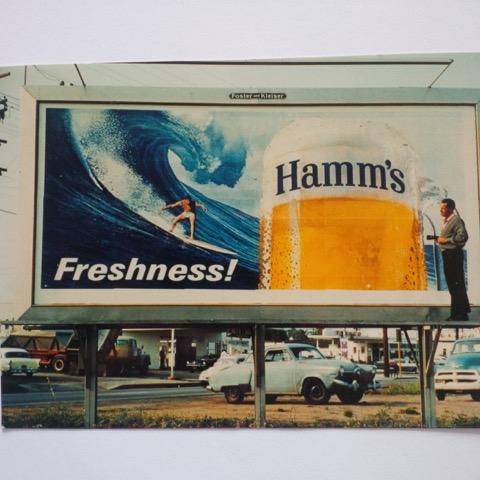 Sunset Beach Hamm's Billboard '60's